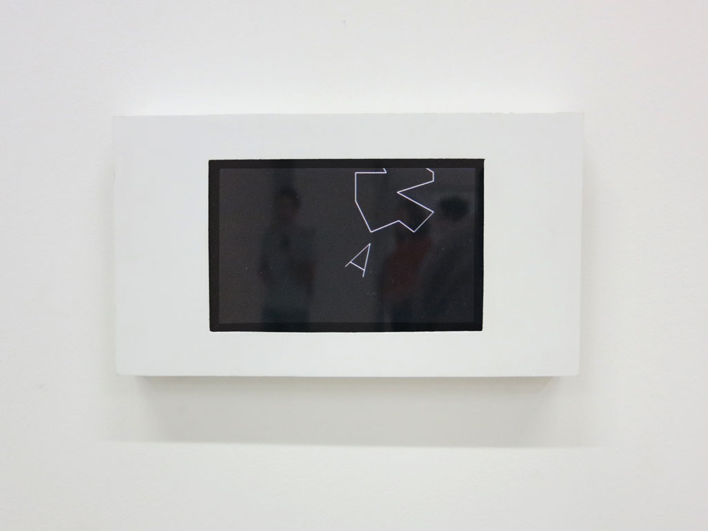 Claude Closky, 'Vowel', 2012, 7 inch pad, program, stereo sound, unlimited duration.